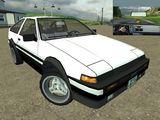Toyota Sprinter Trueno 1986 - 1